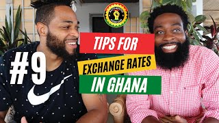 Converting & Exchanging US DOLLARS to Ghana Cedis like a BOSS! - 10 Things To Know Before Ghana #9