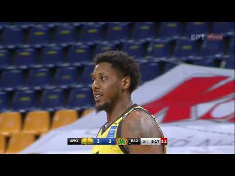 Basket League | Άρης  – Παναθηναϊκός | 17/01/2021 | ΕΡΤ