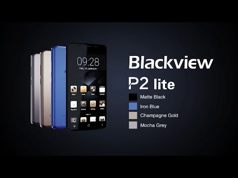 Official 3D graphic video of Blackview P2 lite