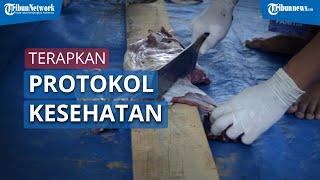 Video Proses Pemotongan Hewan Kurban di Masjid Al Azhar