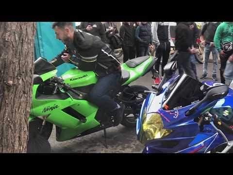 CHESTE 2018 motos de carretera haciendo el corte (sonidos brutales)