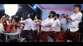 Best Wedding Dance 2019 #Sister's Mehandi Function #Brothers Surprise Performance #Monisha Vishnu