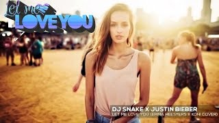 DJ Snake _Let me Love You ( ft Justin Bieber )  ✩ Mere Rashke Qamar Mashup | Korean Version