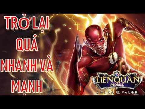 The Flash top pháp sư mới phiên bản Mùa đông kỳ thú Liên quân mobile Arena of Valor