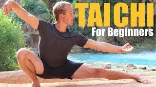 10 Tai Chi Moves for Beginners - 14 Minute Daily Taiji Routine by Kung Fu & Tai Chi Center w/ Jake Mace