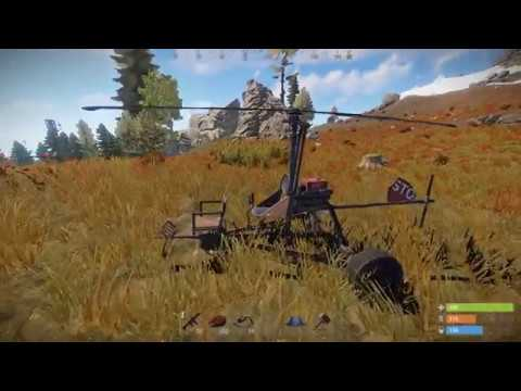 helicopter in rust
