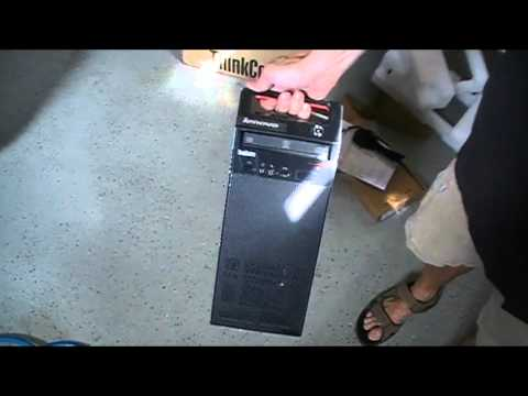 UnBoxing Lenovo E73 Workstation