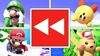 """Every Character """"Leaving"""" The Stage In Super Smash Bros Ultimate"""