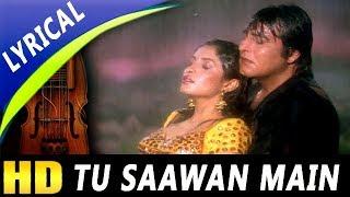 Tu Saawan Main Pyaas Piya With Lyrics | Lata   - YouTube