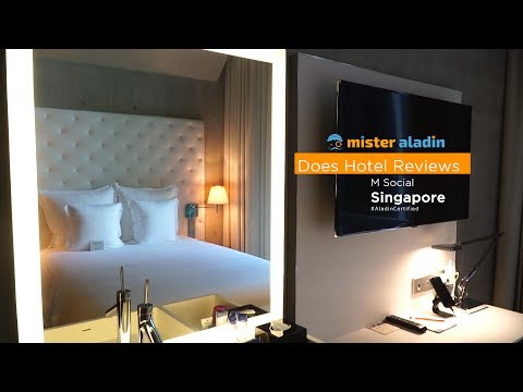 Mister Aladin does Hotel Reviews: M Social Hotel Singapore