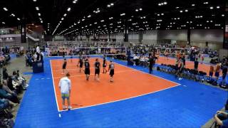 Crossfire vs  BRVC Boys National at BWVC Chicago Jan 2017