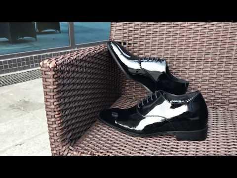 Faretti - męskie buty podwyższające - video - 1