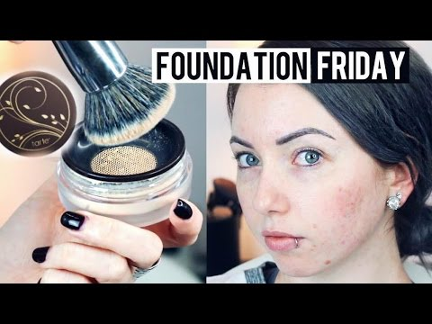 Full Coverage?! Tarte Amazonian Clay Airbrush Powder Foundation {First Impression Review & Demo!}