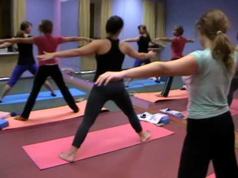 Фитнес-йога обучение.MOD