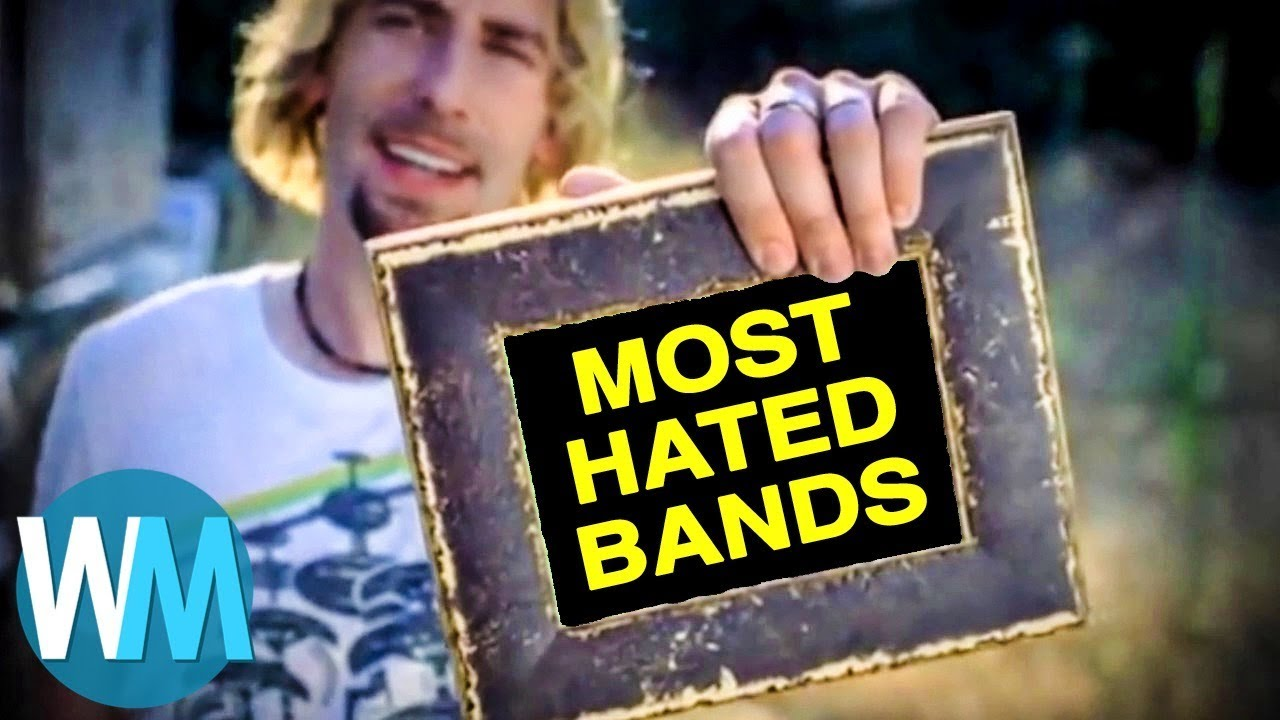 WatchMojo | Top 10 Most Hated Rock Bands of All Time