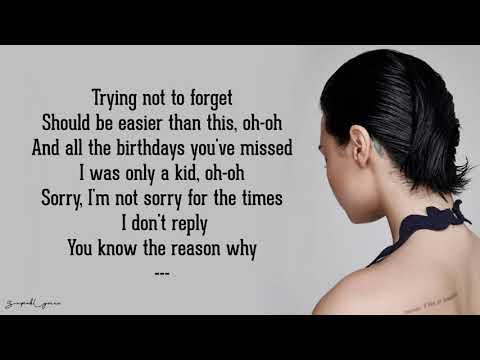 Shouldn't Come Back - Demi Lovato (Lyrics)