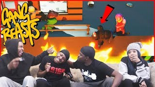 How Did He Survive THAT?! Gang Beasts Is Back...Who Will Be The CHAMP?!