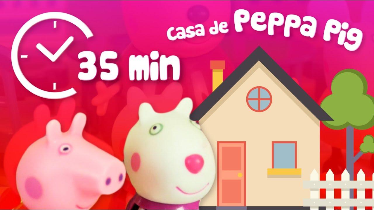 Juega en la casa de Peppa Pig | 35 min | Episodios completos