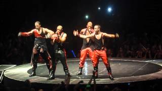 Go Harder JLS 4th Dimension Tour O2 Arena 24th March 2012