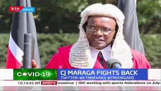 CJ Maraga fights back against proposal on judiciary to BBI
