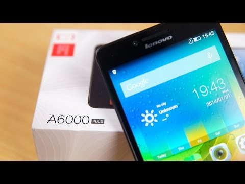 Lenovo A6000 Plus - Unboxing & Hands On