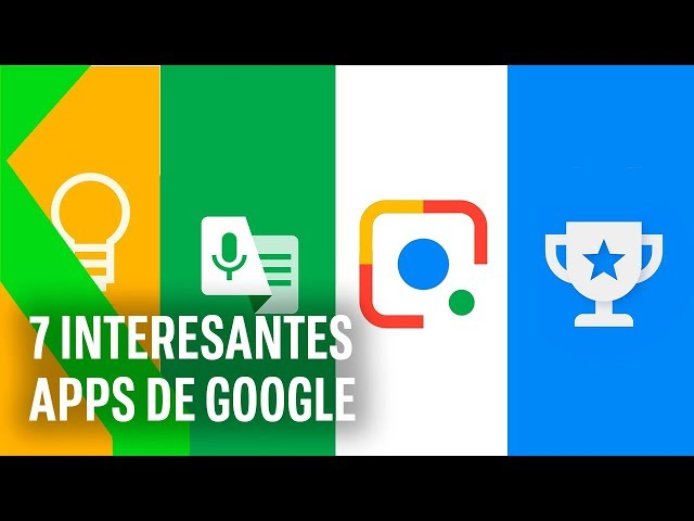 Más allá de YOUTUBE y GMAIL: 7 APPS interesantes de GOOGLE