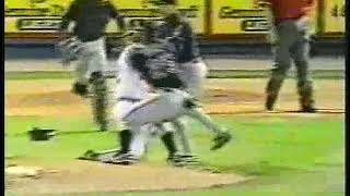 Indians Vs Brewers Brawl 1996 (Belle Forearm Shiver)