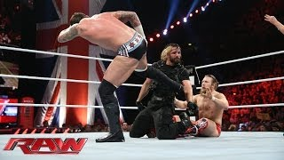 Raw's main event ends in a complete melee: Raw, Nov. 11, 2013
