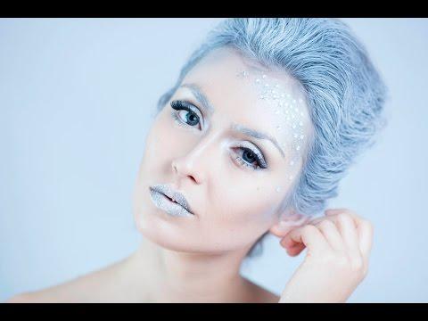 Maquillaje Reina de las Nieves