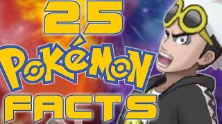 25 Neat Pokemon Facts