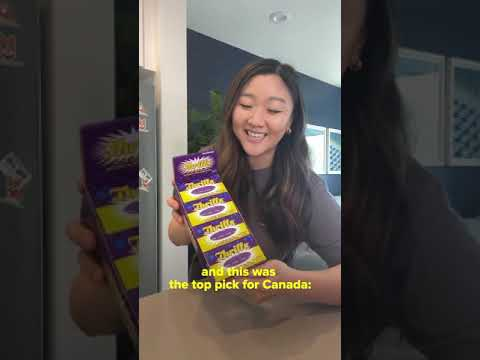 Snack Time with Jasmine: Canada #Shorts