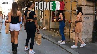 🇮🇹 ROME VIA DEL CORSO STREET PANTHEON 2021 ITALY