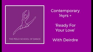 Contemporary 14 yrs + 'Ready for you love'