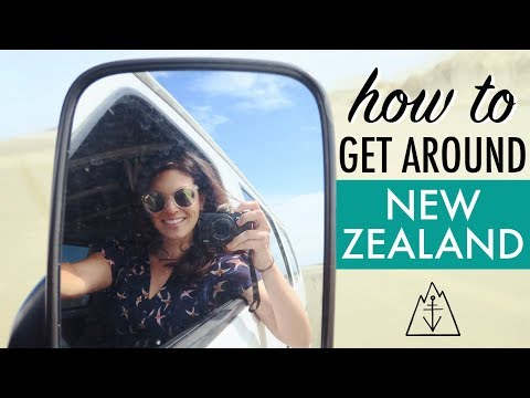 TRANSPORTATION in NEW ZEALAND // Travel Tips