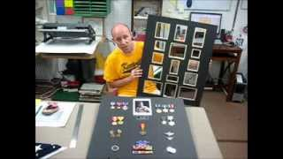 How To Make A Military Shadow Box - Retirement Shadow Boxes