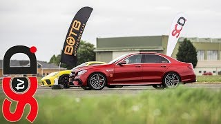 E63s AMG vs Supercars // BOTB Drag Race