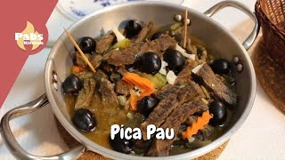 Pica Pau - Best Beef snack with Beer Sauce 🍳