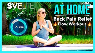 At Home Back Pain Relief Flow Workout