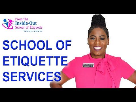 Learn Right Etiquette from Certified Etiquette Expert  Etiquette ...
