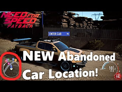 Need For Speed Payback: NEW ABANDONED CAR LOCATION! EASY!