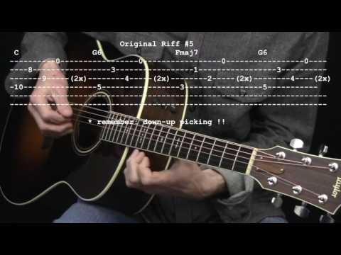 Original Riff 5 By Jonathan Kehew 365 Riffs For Beginning Guitar