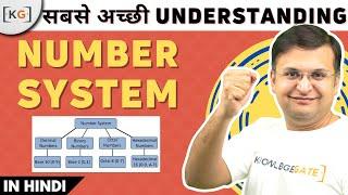 Part 6.1 - Number system digital electronics switching theory hindi gate exam cse ugc csir net