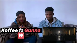 Koffee   W(Official Video) Ft Gunna [Reaction Video]