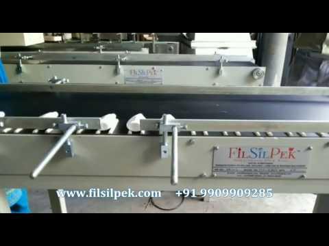 Batch Coding Conveyor Machine