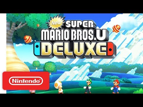 New Super Mario Bros. U Deluxe - Announcement Trailer - Nintendo Switch thumbnail