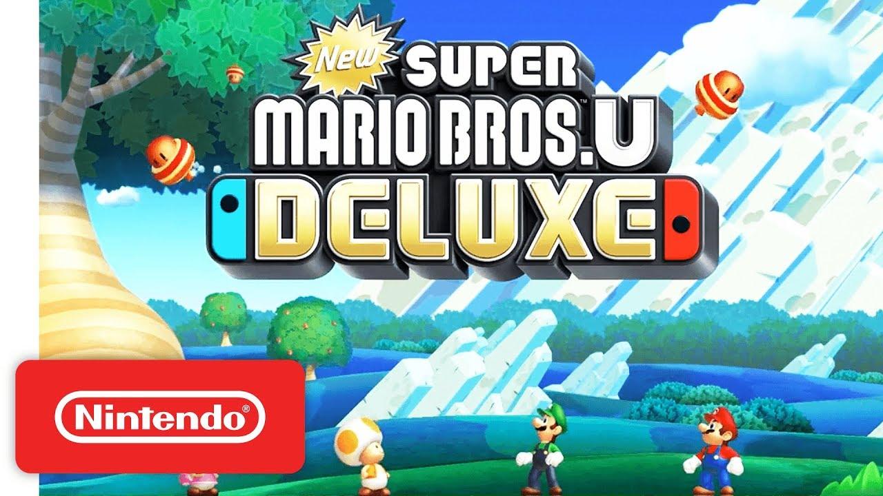 Trailer di New Super Mario Bros. U Deluxe