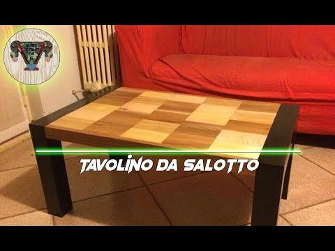 Bellissimo tavolino da salotto a costo zero- Alfre fai da te