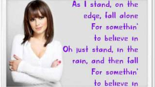 "Cheryl Cole - ""Waiting"" With Lyrics On Screen (Messy Little Raindrops)"