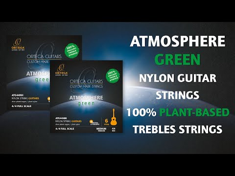 Ortega Guitars | Atmosphere Green Nylon Guitar Strings - Trailer
