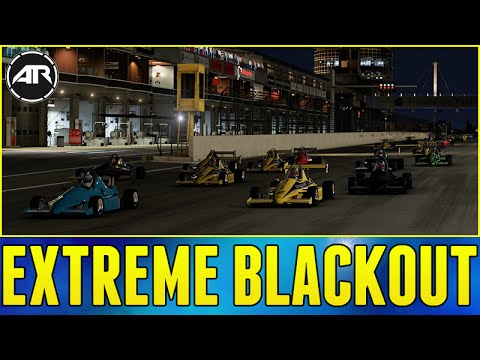 Forza 6 Online : EXTREME BLACKOUT RACING!!!